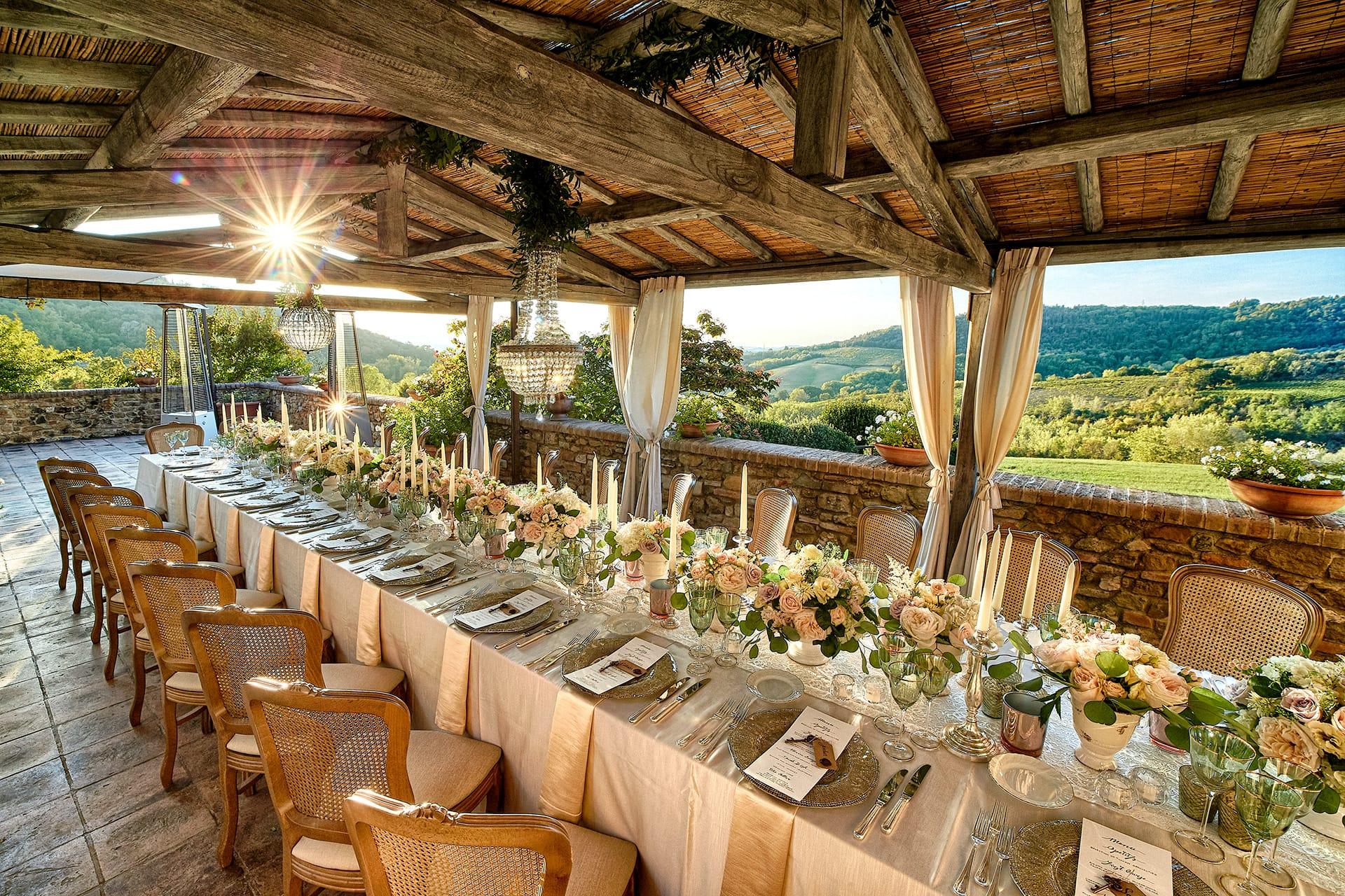 Arredamento Shabby Toscana preludio noleggio – noleggio attrezzature per catering