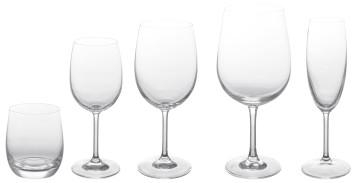 Calici acqua e vino colonna porta lavatrice - Coincasa bicchieri ...