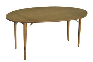 Noleggio tavoli rotondi quadrati in legno vimini e plexiglass noleggio tavoli luminosi - Tovaglia per tavolo ovale ...