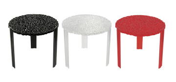 Tavolo fumo t-table kartell