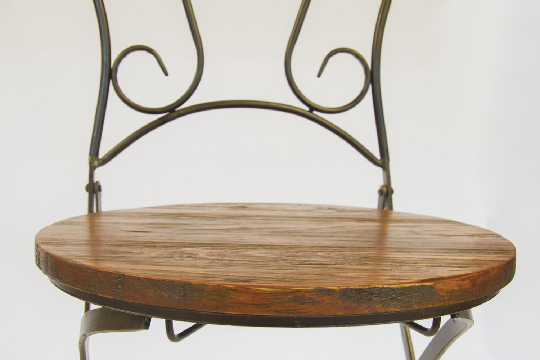 Noleggio sedie sedie in legno e ferro lavorato for Sedie in ferro e legno