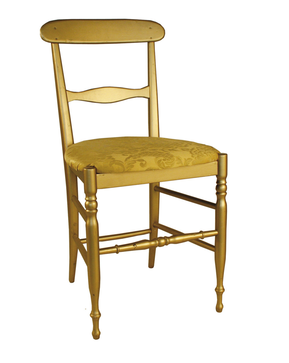 Noleggio sedie sedie mod campanina oro for Outlet sedie roma