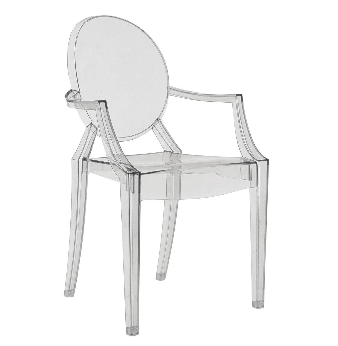 Noleggio sedie sedie kartell mod louis ghost - Sedia kartell trasparente ...