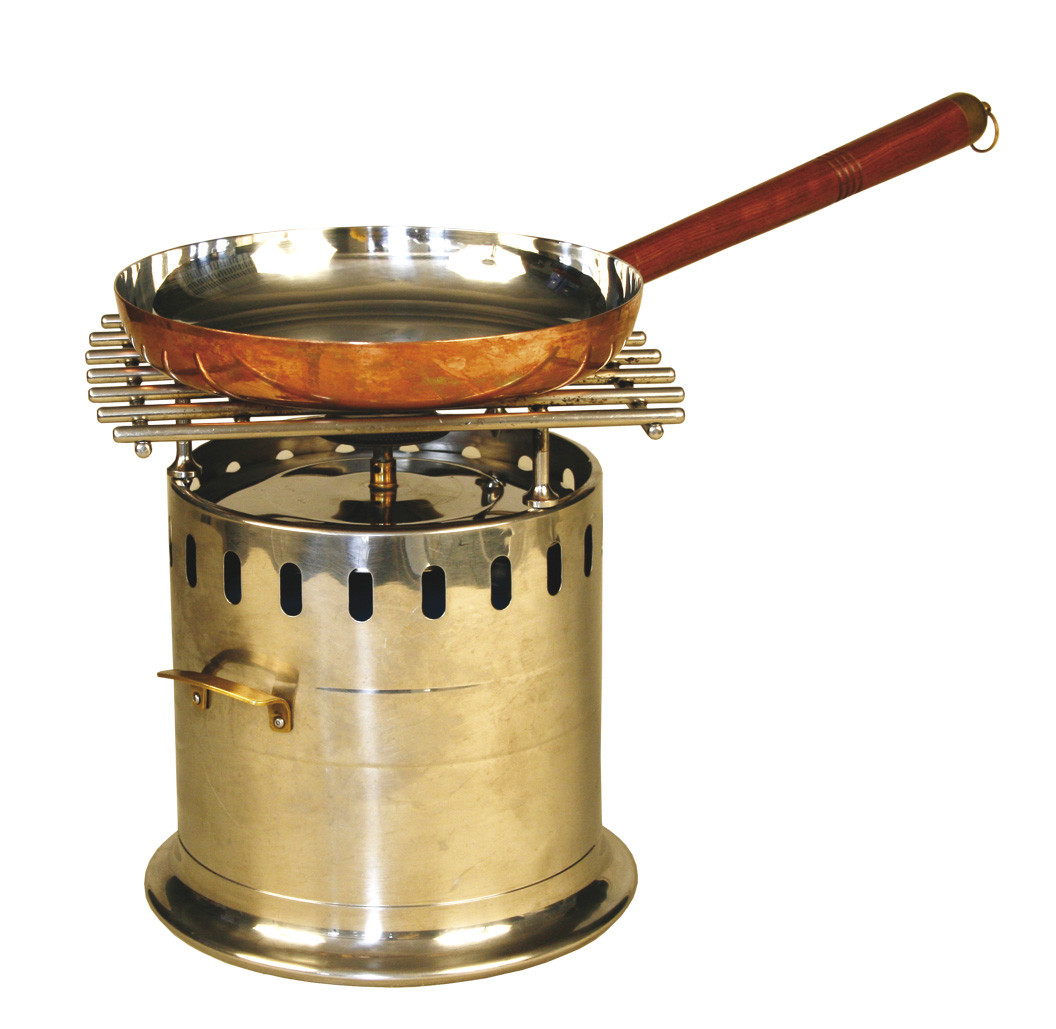 noleggio attrezzature da buffet, lampade flambé a gas - Cucina Flambè
