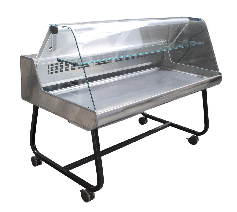 Noleggio materiale da cucina vetrine frigo orizzontali inox - Frigo da tavolo usato ...