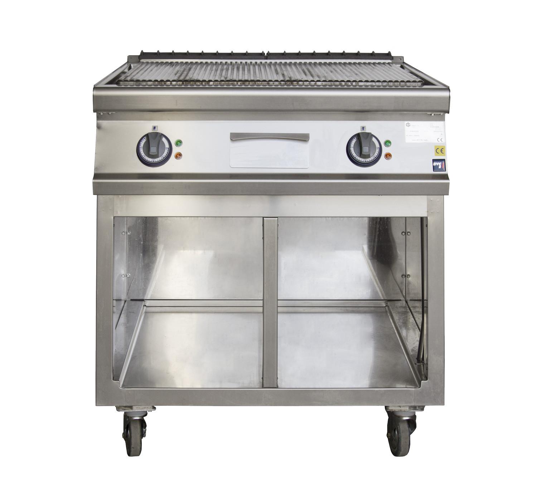 Noleggio materiale da cucina piastre fry top a piastra rigata - Materiale top cucina ...