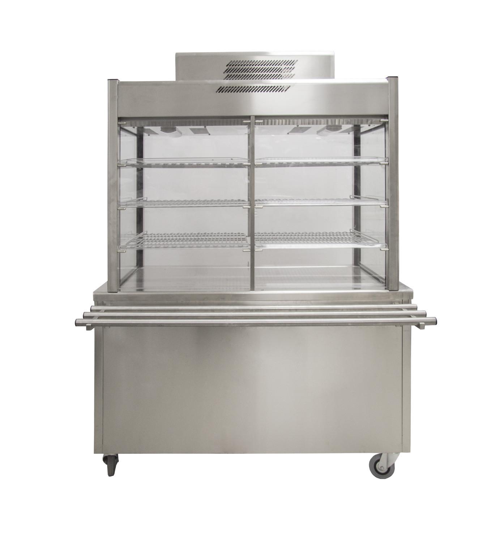 Noleggio materiale da cucina, Vetrine refrigerate