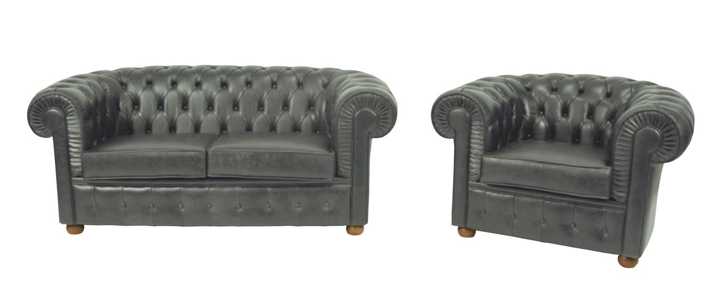 Noleggio divani e poltrone divano in pelle color verde - Divano verde petrolio ...