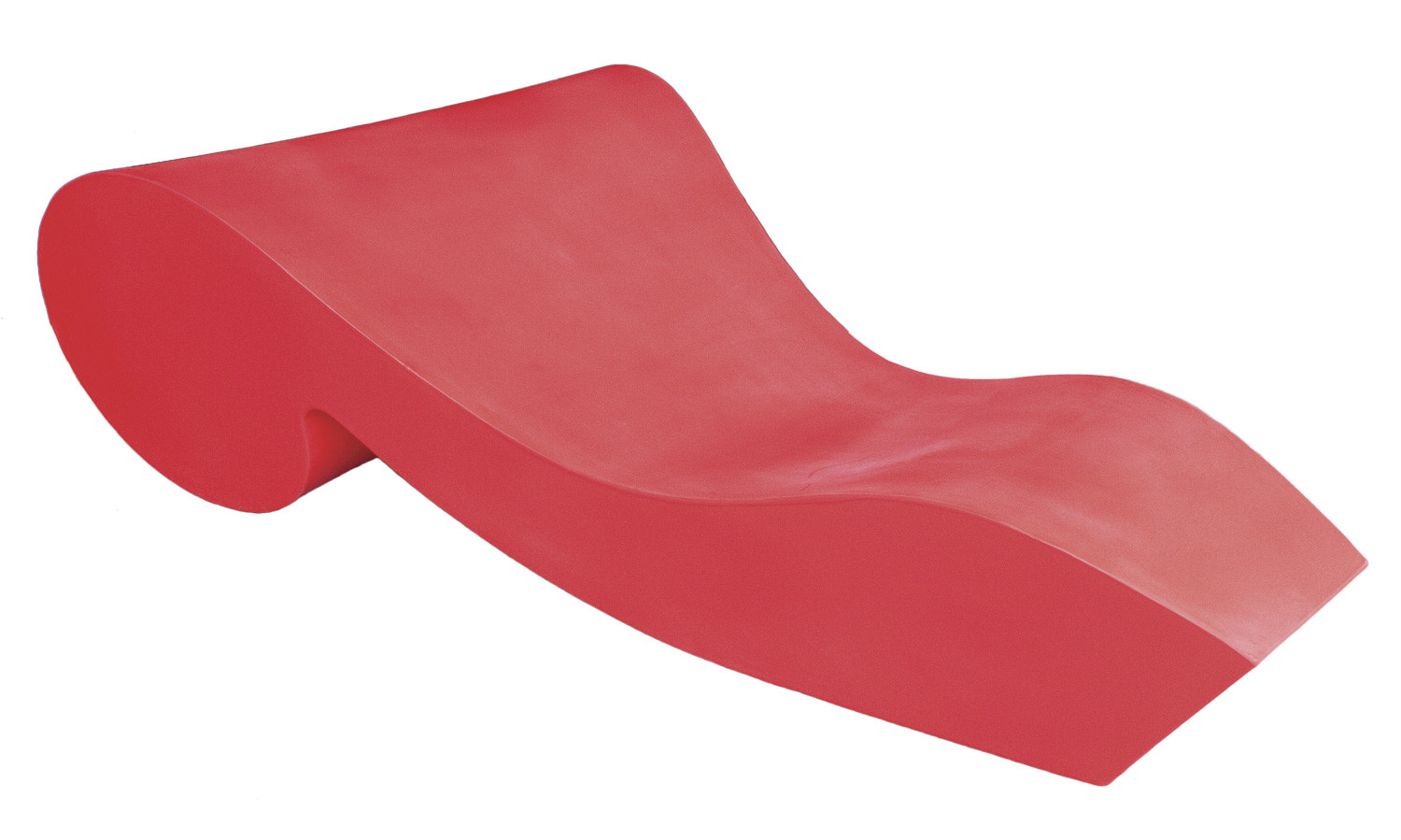 Chaise Longue Rosse