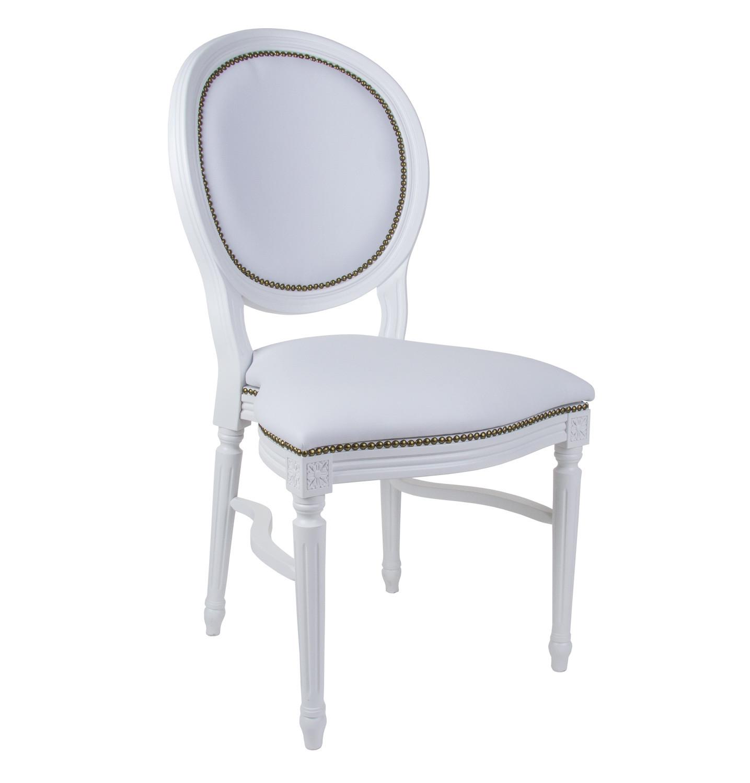 Noleggio sedie sedie in ecopelle bianche for Sedie nere ecopelle