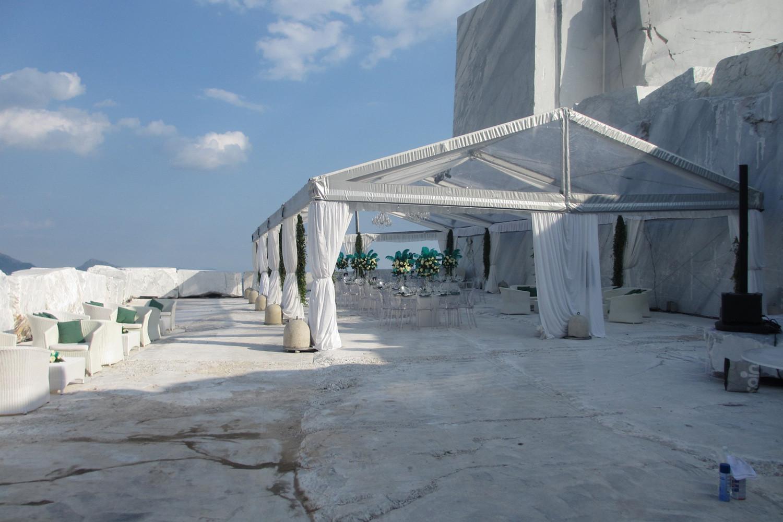 Galleria fotografica Gazebo e Tensostrutture a Noleggio per matrimoni ed eventi