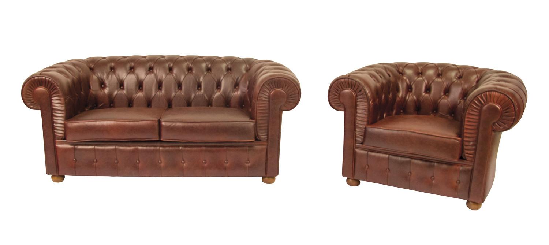 Divano Cuoio Invecchiato : Noleggio divani e poltrone divano chester color cuoio