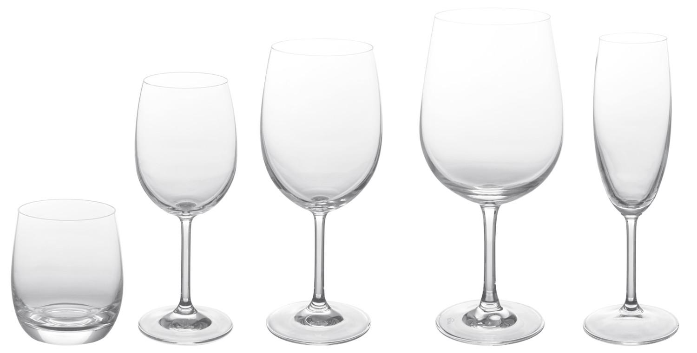 Noleggio bicchieri serie di bicchieri modello signum - Coincasa bicchieri ...