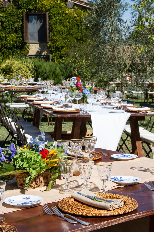 Allestimenti Matrimonio Rustico : Preludio noleggio attrezzature piatti bicchieri tavoli
