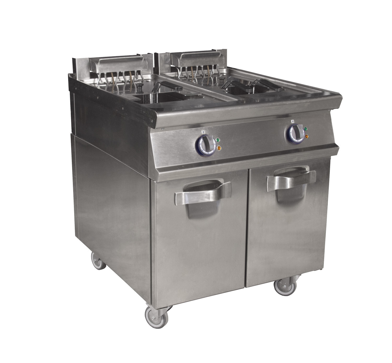 Vendita Attrezzature Da Cucina Professionali Usate.Noleggio Materiale Da Cucina Friggitrici Doppie
