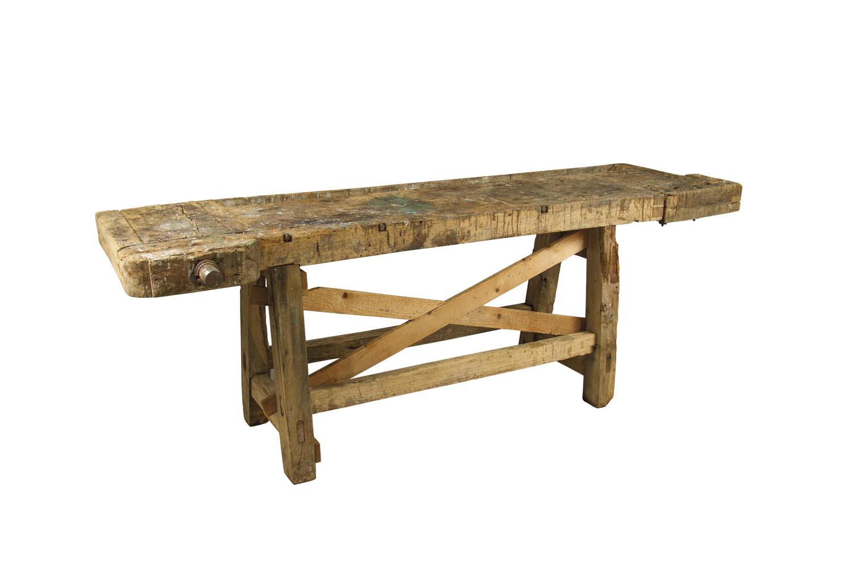 Arredi vintage tavolo da falegname - Tavolo da falegname ...