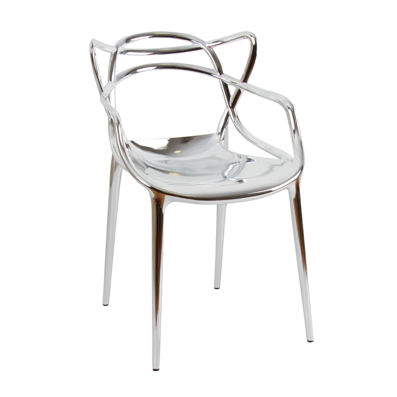 Noleggio sedie sedia philippe starck modello masters for Sedie in acciaio
