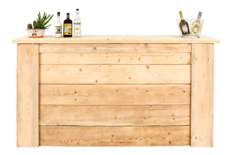Noleggio Chioschetti da buffet e carrelli, Banconi bar in legno