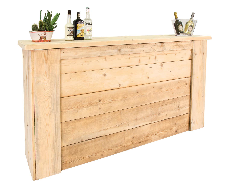 Noleggio banconi da bar banconi bar in legno - Bancone cucina legno ...