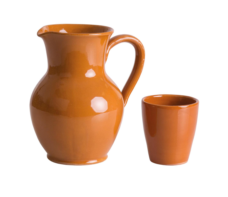 noleggio bicchieri bicchieri e caraffe in terracotta