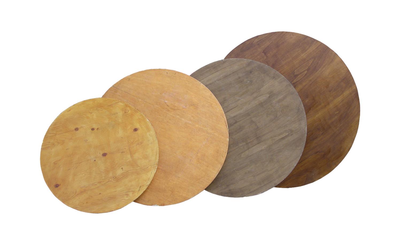tavoli rotondi in varie misure