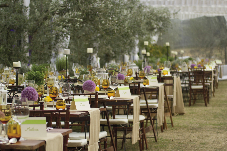 Location Matrimonio Country Chic Roma : Noleggio tavoli rettangolari country