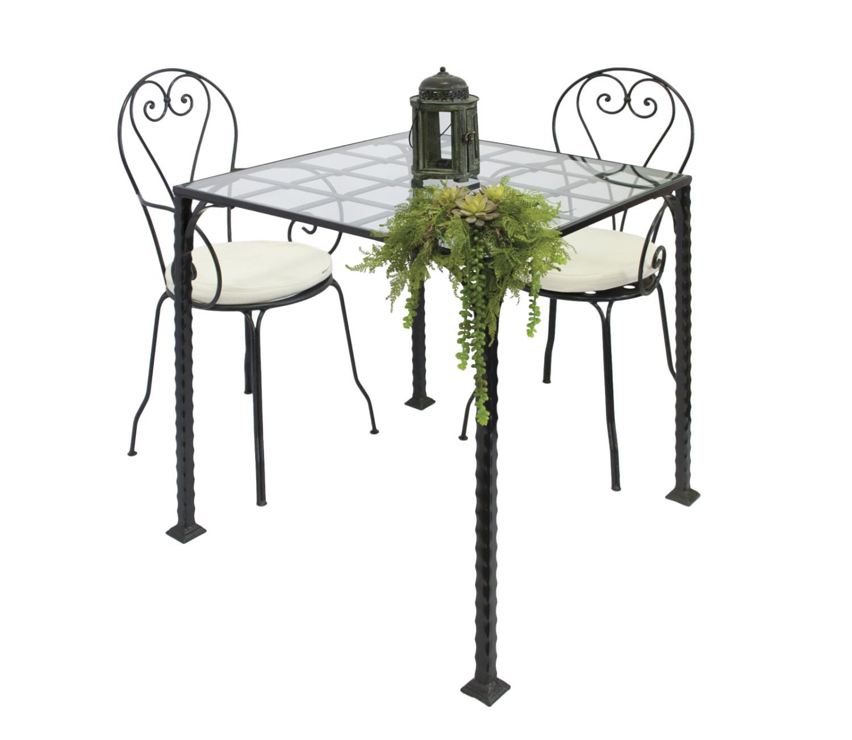 Noleggio tavoli tavoli in ferro battuto - Tavoli da pranzo ferro battuto e vetro ...